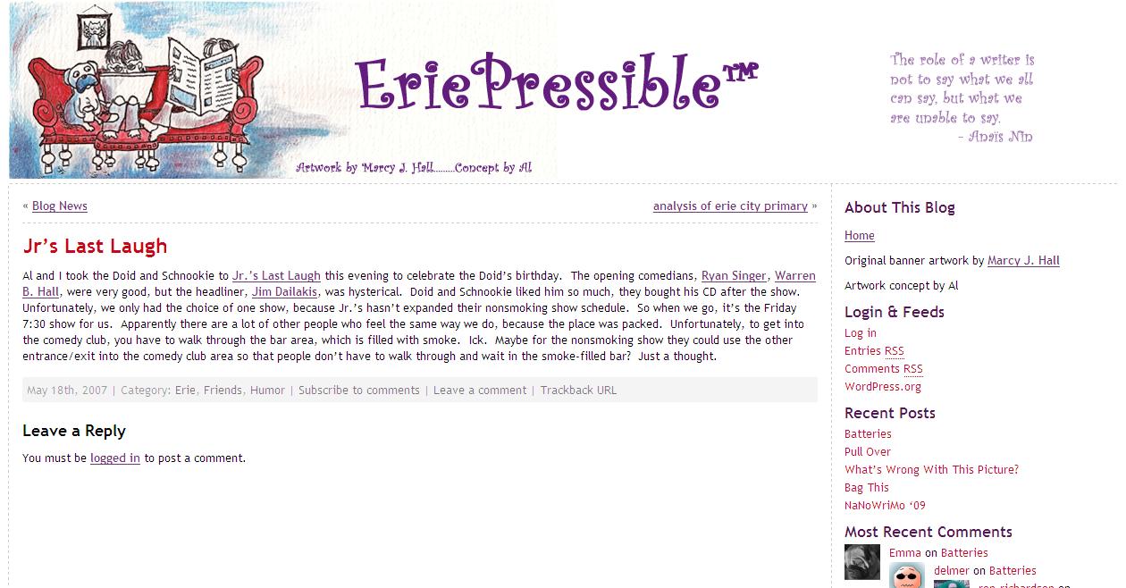eriepressible-Last-Laugh